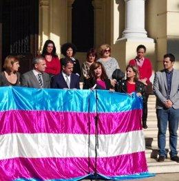 Apoyo en el Ayuntamiento de Málaga al colectivo transexual