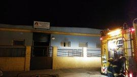 El centro de Afanas incendiado en El Puerto permanecerá cerrado unos días