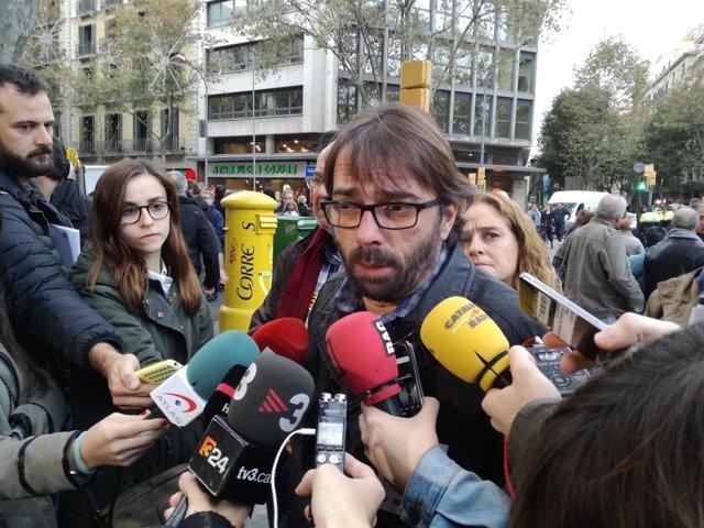 El secretario general de UGT en Catalunya, Camil Ros