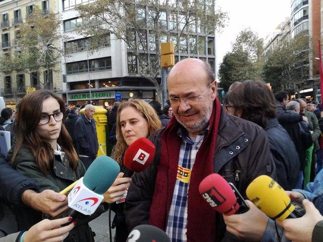 El secretario general de CCOO en Catalunya, Joan Carles Gallego