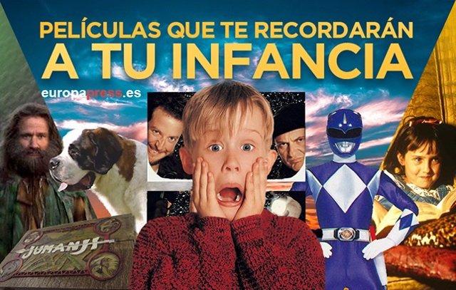 Películas que te recordarán a tu infancia