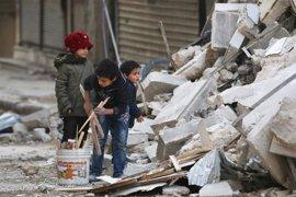 UNICEF teme que se produzca un brote de desnutrición en Alepo si sigue la situación actual