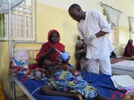 La falta de alimentos y la desnutrición aguda se ceban con los niños de Maiduguri