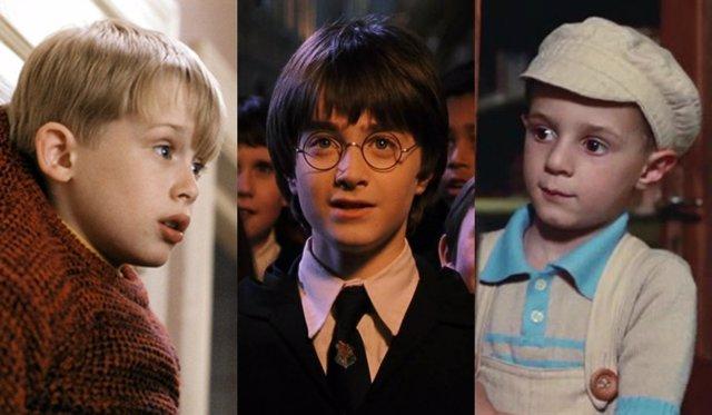 Macaulay Culkin, Daniel Radcliffe y Giorgio Cantarini
