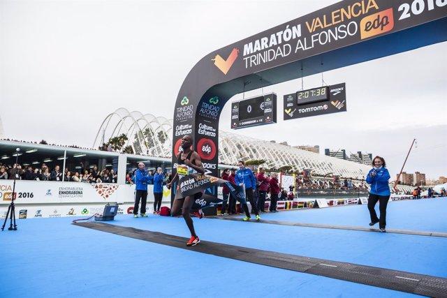 Victor Kipchirchir Maratón Valencia Trinidad Alfonso