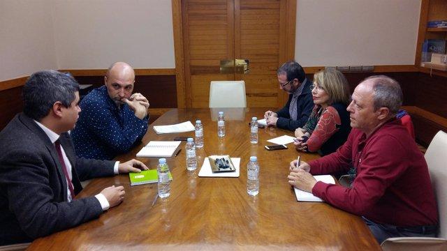 Reunión de la Ley de Memoria Democrática.