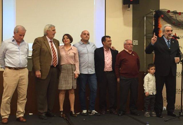 Andrés Madrigal recibe la Turuta de oro