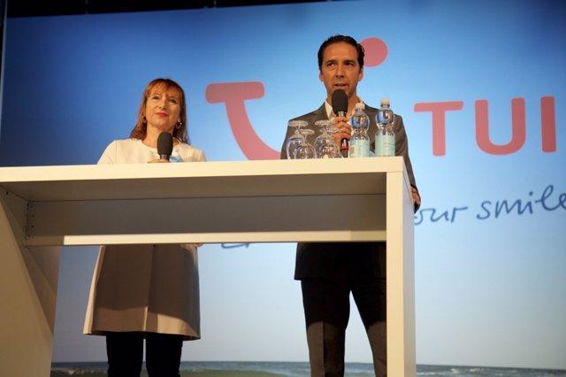 Presentación del catálogo de TUI