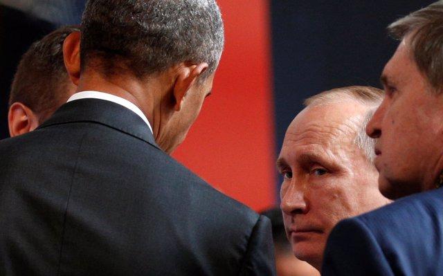 Putin y Obama en Lima