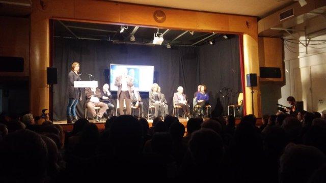 Acto en la cárcel Modelo en homenaje a los presos políticos