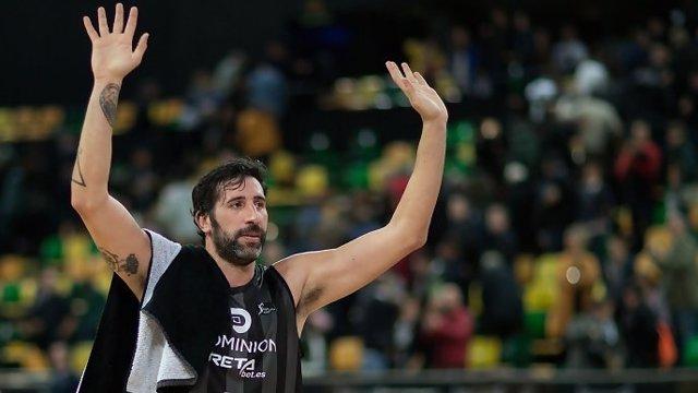 El jugador de RETAbet Bilbao Basket Álex Mumbrú