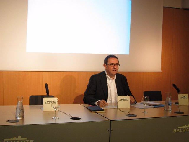 Félix Palomero, gerente de la Fundación Baluarte.