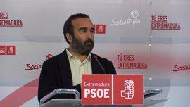 """El PSOE dice que con las obras de la Plataforma Logística se acaba la """"palabrería"""" del PP"""