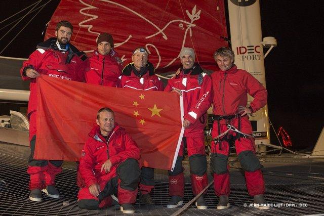 Alex Pella y su tripulación