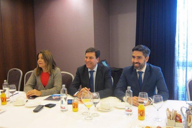 Fernández Carriedo en la jornada sobre buenas prácticas empresariales