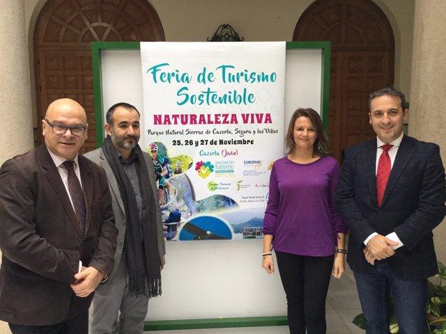 Presentación de la I Feria de Turismo Sostenible Naturaleza Viva.