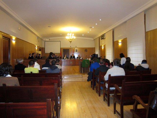 Los catorce procesados por la operación 'Peña Duero'.