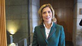La nueva portavoz del PP en las Cortes afirma que seguirán con una oposición constructiva