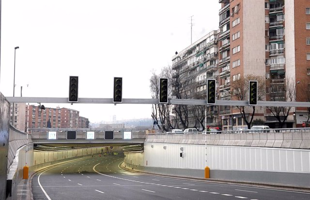 Calle 30, M-30 de Madrid