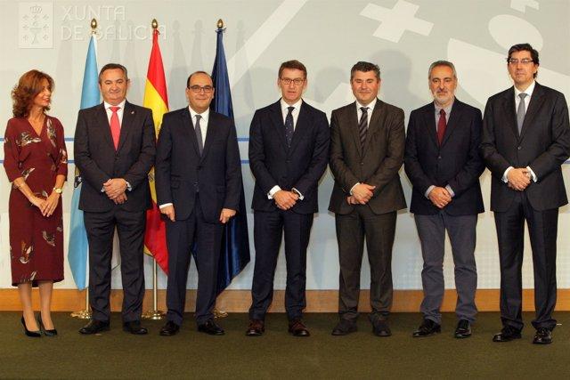 O titular do Goberno galego, Alberto Núñez Feijóo, presidirá o acto de toma de p
