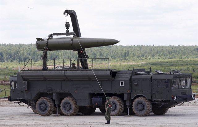 Misil Iskander ruso