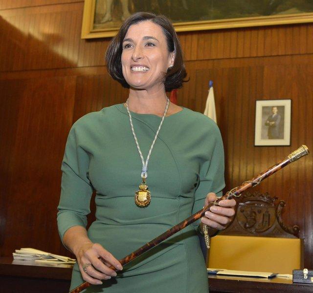 Gema Igual, primera alcaldesa de Santander