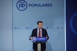 """'Génova' recuerda a Bauzá que """"no es momento"""" de hablar del congreso del PP de Baleares"""