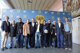 Robinson y Raúl Ruiz presentan 'Caos FC' para ayudar a los equipos más necesitados del fútbol español