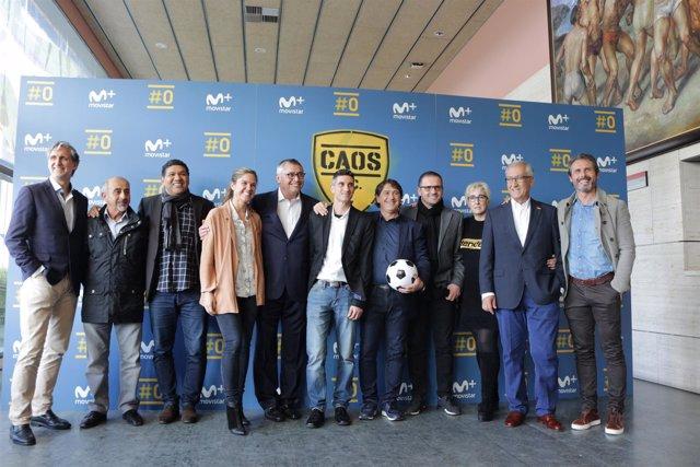 Presentación del programa FC Caos
