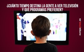 ¿Cuánto tiempo destina la gente a ver la televisión y qué programas prefieren?