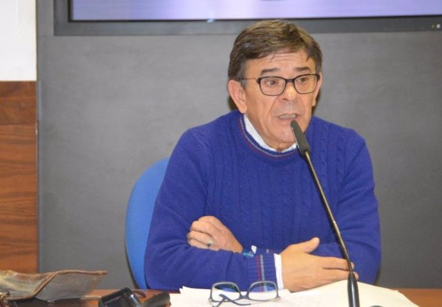 El Presidente De La Fundación Municipal De Cultura, Roberto Sánchez Ramos,