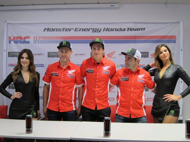 Presentación Monster Energy Honda Team Dakar (Foto: Europa Press)