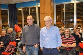 Javier Pacheco inicia en Lleida la recogida de avales para liderar CC.OO. de Catalunya