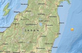 Declarada la alerta por tsunami para Fukushima tras un terremoto en la costa japonesa