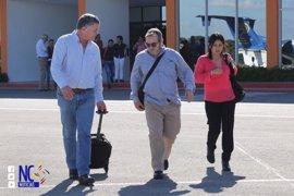 'Timochenko' y los negociadores de las FARC llegan a Bogotá para ultimar el nuevo acuerdo