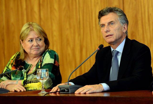Malcorra y Macri