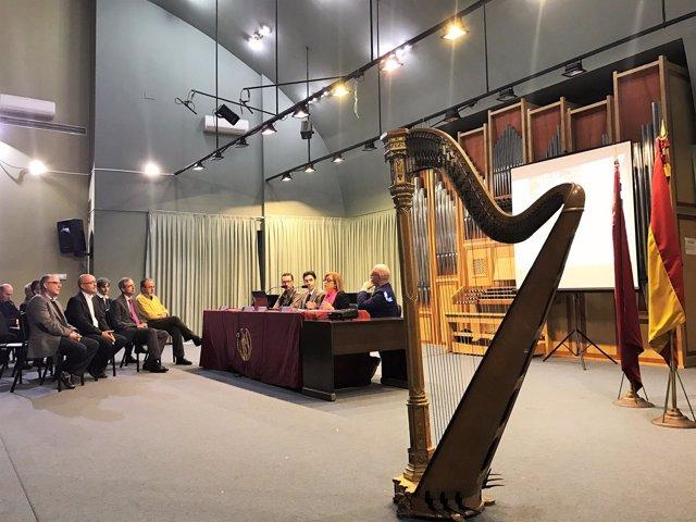 Patrimonio audiovisual de los conservatorios de música de Murcia