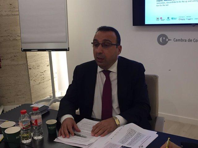 El coordinador de Ascame Anwar Zibaoui