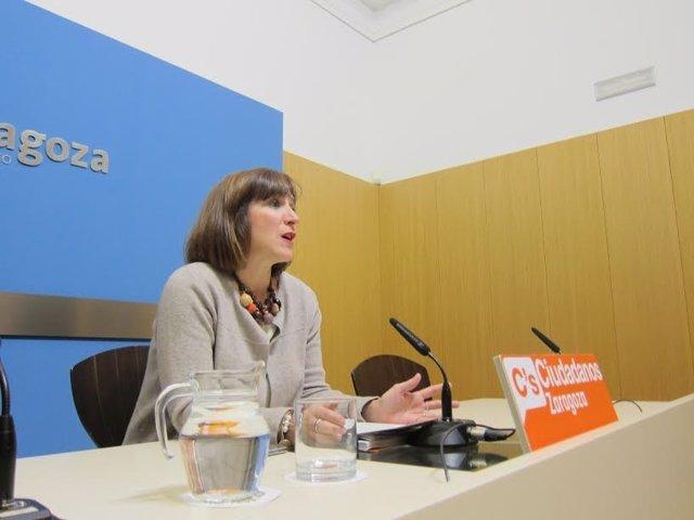 Sara Fernández, concejal de C's