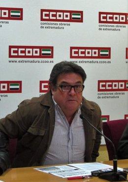 Julián Carretero en rueda de prensa