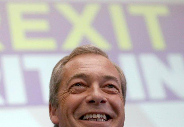 El líder del UKIP, Nigel Farage