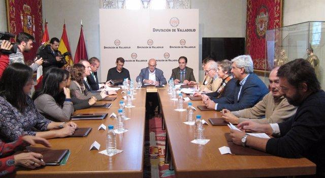 Firma de convenios entre la Diputación de Valladolid y ONG