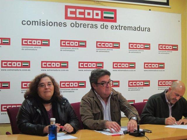 Salazar, Carretero y Jiménez (de izquierda a derecha)