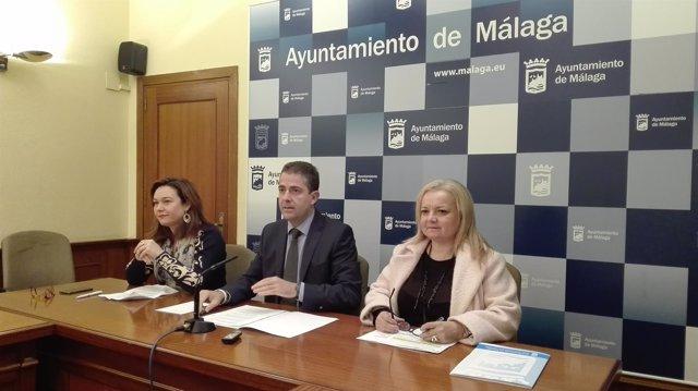 Martín Rojo, Conde y Bazalo en rueda de prensa