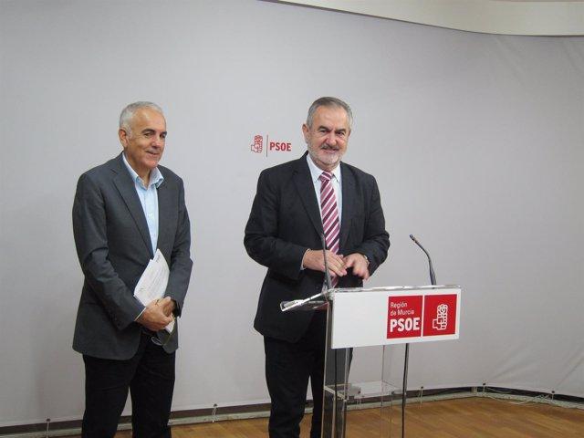 González Tovar y Martínez Baños, durante la rueda de prensa