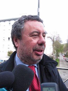 El abogado del maquinista imputado por el accidente de Angrois, Manuel Prieto