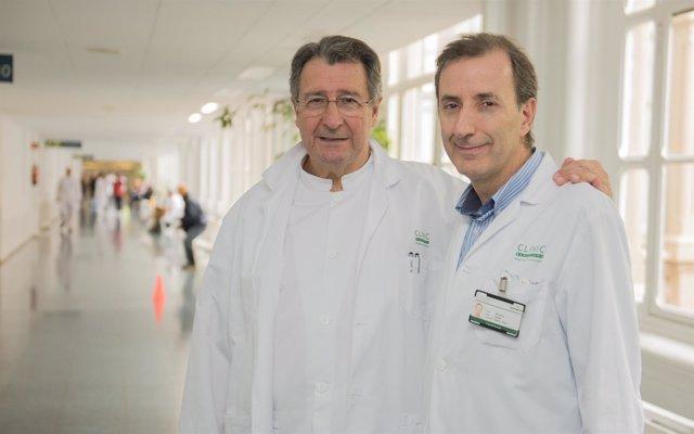 José Luis Pomar (izquierda) y Manel Sabaté (derecha)