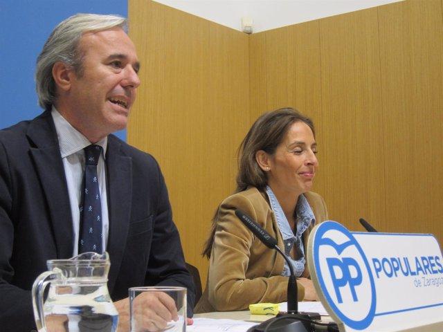 Foto Azcón Y María Navarro