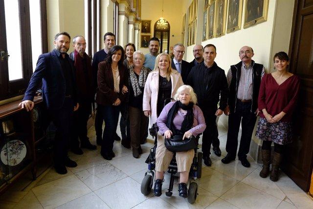 Presentación semana discapacidad Ayuntamiento Málaga
