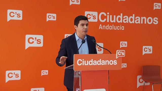 Ciudadanos (CS)  Audio E Imágenes De La Rueda De Prensa Ofrecida Por Sergio Rom